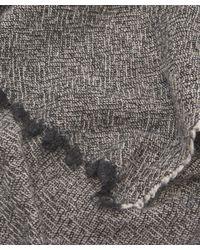 Nick Bronson - Gray Multi Weave Scarf - Lyst