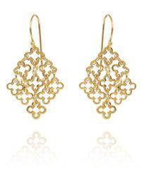 Dinny Hall | Metallic Gold Vermeil Talitha Drop Earrings | Lyst