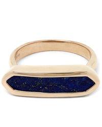 Monica Vinader | Multicolor Vermeil Lapis Lazuli Baja Ring | Lyst