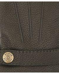 Dents - Black Cashmere Lined Deerskin Gloves - Lyst