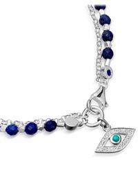 Astley Clarke - Metallic Evil Eye Biography Bracelet - Lyst