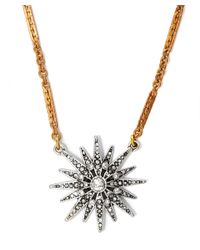 Lulu Frost - Metallic Gold-tone Radiant Necklace - Lyst