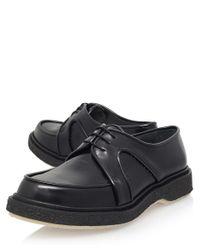 Adieu - Black Classic Detail Derby Shoe for Men - Lyst