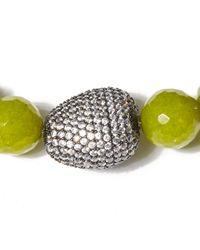 Tai - Light Green Beaded Bracelet - Lyst
