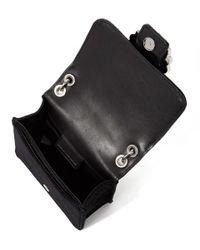 Marc Jacobs - Black Velvet Box Cross Body Bag - Lyst