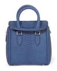 Alexander McQueen | Blue Chanter Bag | Lyst