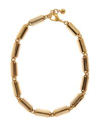 Lulu Frost - Metallic Gold-plated Jane Link Necklace - Lyst