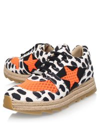 Stella McCartney - Black Star Macy Sneaker - Lyst