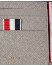 Thom Browne - Red Billfold Leather Wallet for Men - Lyst