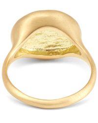 Satomi Kawakita | Metallic Gold Diamond Orb Ring | Lyst