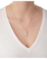 True Rocks - Multicolor Large Rose Gold Peg Necklace - Lyst