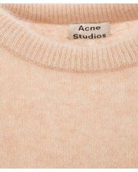 Acne Studios - Pink Dramatic Mohair Classic Jumper - Lyst