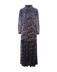 Raquel Allegra - Purple Tie Dye Maxi Dress - Lyst