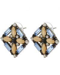DANNIJO - Metallic Sondrio Earrings - Lyst