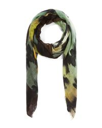 Faliero Sarti - Green Forest and Lake Plaid Zirla Scarf - Lyst