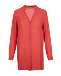 Etro - Red Classic Kaftan Blouse - Lyst