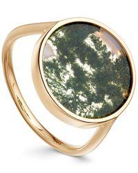 Astley Clarke - Metallic Moss Agate Venus Ring - Lyst