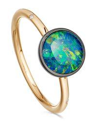 Astley Clarke - Metallic Opal Uranus Ring - Lyst
