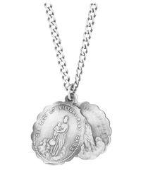 Miansai - Metallic Saints Necklace - Lyst