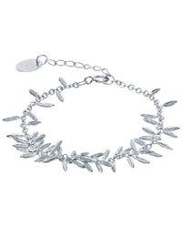 Alex Monroe - Metallic Silver Fennel Kissing Seed Bracelet - Lyst