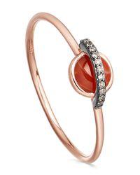 Astley Clarke - Multicolor Agate Mini Saturn Ring - Lyst