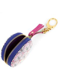 Liberty | Multicolor Round Coin Pouch In Rainbow Canvas | Lyst