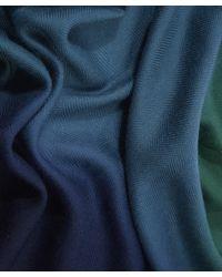 Paul Smith | Blue Degrede Scarf | Lyst
