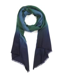 Paul Smith | Blue Degrede Scarf | Lyst