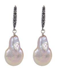 Stephen Dweck Baroque Pearl Drop Earrings L3rSbTRr