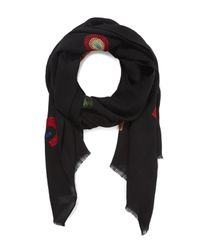 Paul Smith - Black Rainbow Scarf - Lyst