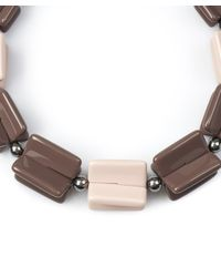 Diana Broussard   Multicolor Jaden Lego Necklace   Lyst