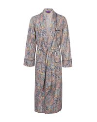 Liberty | Blue Felix And Isabelle Long Cotton Robe | Lyst