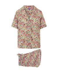 Liberty | Pink Elysian Short Cotton Pyjama Set | Lyst
