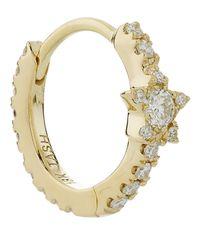 "Maria Tash | Metallic 5/16"" Diamond Star Eternity Earring | Lyst"