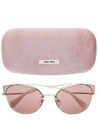 Miu Miu - Purple Scenique Evolution Sunglasses - Lyst