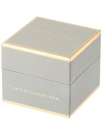 Astley Clarke - Metallic Honeycomb Stud Earrings - Lyst