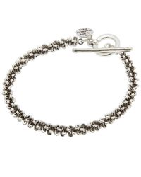 Philippe Audibert - Metallic Totem Chain Bracelet - Lyst