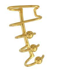 Maria Black | Metallic Gold-plated Orbit Right Ear Cuff | Lyst