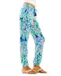 Lilly Pulitzer - Blue Piper Pull-on Ankle Pant - Lyst