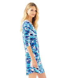 Lilly Pulitzer Blue Upf 50+ Tammy Dress