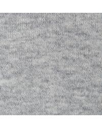 L.K.Bennett - Gray Kelly Grey Cashmere Knitted Top - Lyst