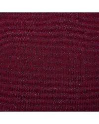 L.K.Bennett - Purple Maddy Rose Merino Wool Cardigan - Lyst