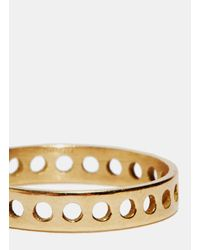 Jem - Metallic Jem Women's Voids Xxs Ring From Aw15 In Yellow Gold - Lyst