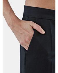 Stella McCartney - Women's Erin Wide Tuxedo Pants In Black - Lyst