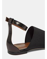 Agnona | Women's Leather Wrap Sandals In Black | Lyst