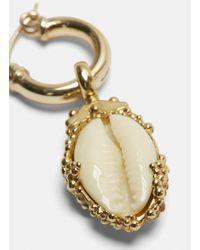 Ellery - Metallic Rosalind Shell Drop Earrings In Gold - Lyst