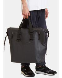Snow Peak - Men's Dry Waterproof Tote Bag In Black - Lyst