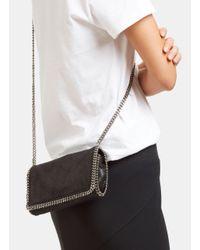 Stella McCartney - Women's Cross-body Falabella Bag In Black - Lyst