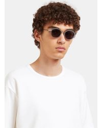 Thom Browne - Gray Men's Round Sunglasses In Grey for Men - Lyst