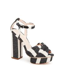 Loeffler Randall | Black Arbella Platform Sandal | Lyst